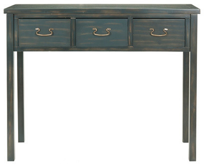 Cindy Navy Console Table traditional-side-tables-and-accent-tables