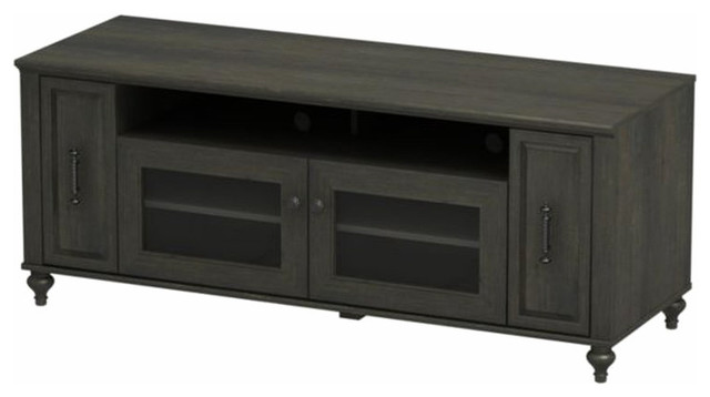 Kathy Ireland by Bush Volcano Dusk TV Stand in Kona Coast Finish modern-media-storage