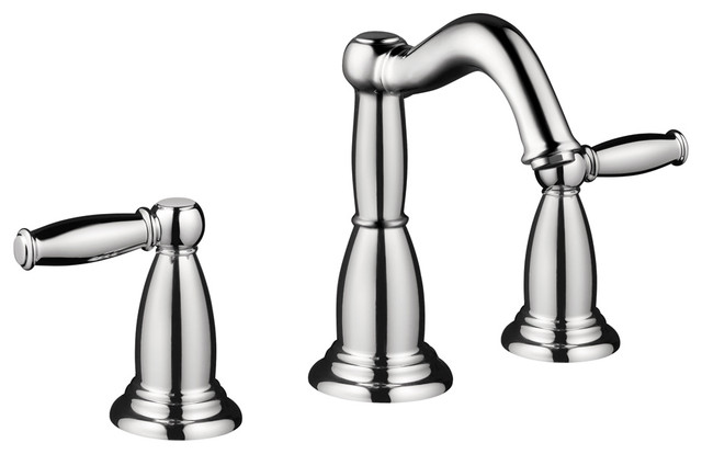 Hansgrohe 6040000 Tango C Widespread Faucet w/ Lever Handle in Chrome modern-bathroom-faucets-and-showerheads