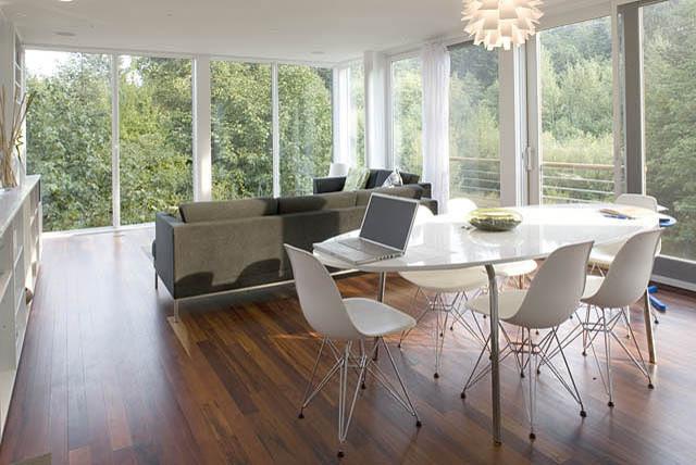 neal creek residence modern-exterior