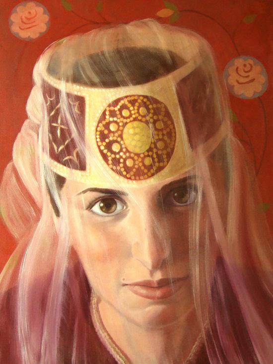Custom Art-Central Asian Women -