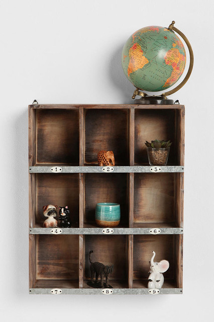 Little Boxes Wall Organizer contemporary-display-and-wall-shelves