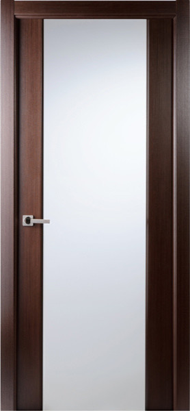 contemporary african wenge veneer interior single door