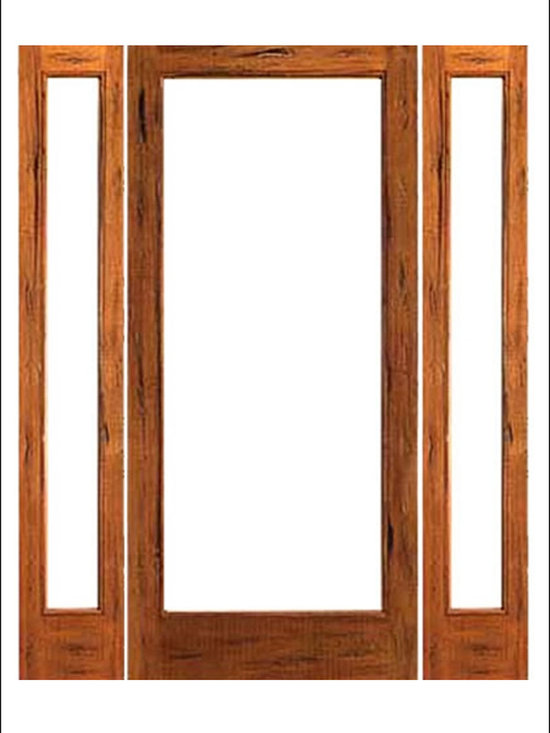 French Doors Model # Rustic 1 Lite - French doors in Rustic ( Teak ).  These doors are stainable and paintable and come in multiple sizes in options with including Low-E Glass.  These doors can be used as interior (available under our Interior Glass Doors)  or exterior doors.
