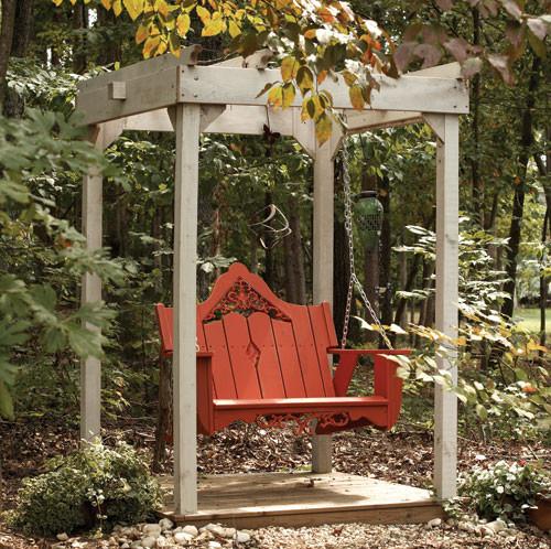 Veranda Swing traditional-patio-furniture-and-outdoor-furniture