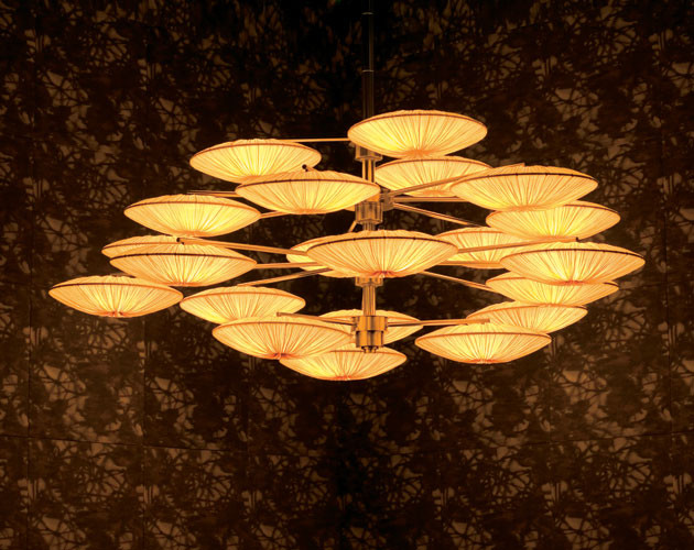 Sunsa Chandelier by Aqua Creations asian chandeliers