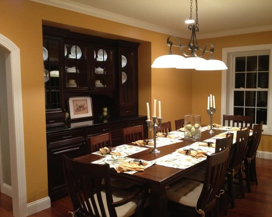 Wilson Hill Project Massena, NY - North Country Millworks, hand crafted and installed the cabinetry for the space provided, made of cherry, custom stained to the customer's choice of color.
