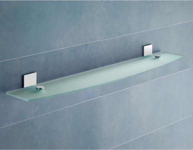 23 Contemporary Glass Bathroom Shelf Contemporary Display And Wall