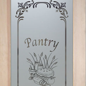 Pantry Door - Lenora Apple Pie eclectic-interior-doors
