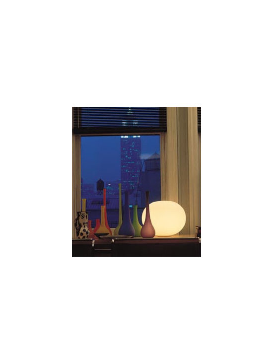 Glo Ball Basic Table Lamp By Flos Lighting - Glo Ball Basic from Flos is part of the Glo Ball collection.