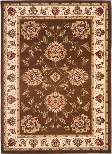 Lyndhurst Brown/Ivory Rug modern-rugs