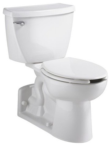 Yorkville Pressure Assisted Elongated Toilet modern-toilets