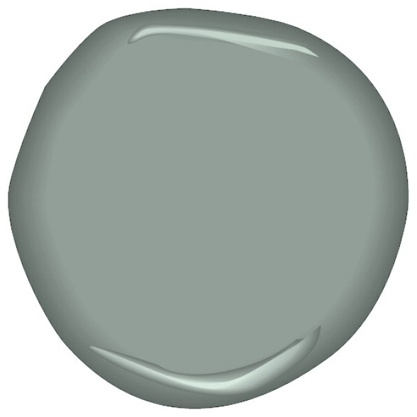 sea glass CSP-735 - Paint - by Benjamin Moore