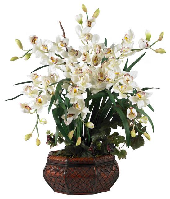 Asian Silk Flowers 18