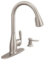 Moen Haysfield kitchen faucet traditional-kitchen-faucets