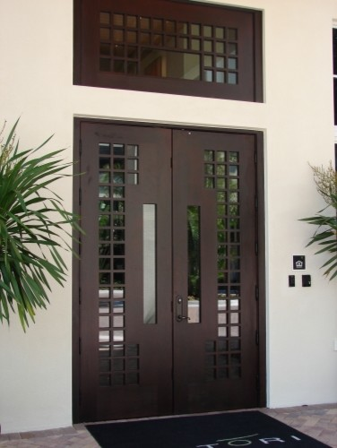 Modern contemporary european style entry doors by deco for Modern entrance door design