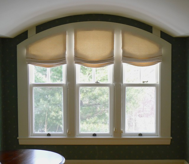 Roman Shades Traditional Roman Shades Boston By