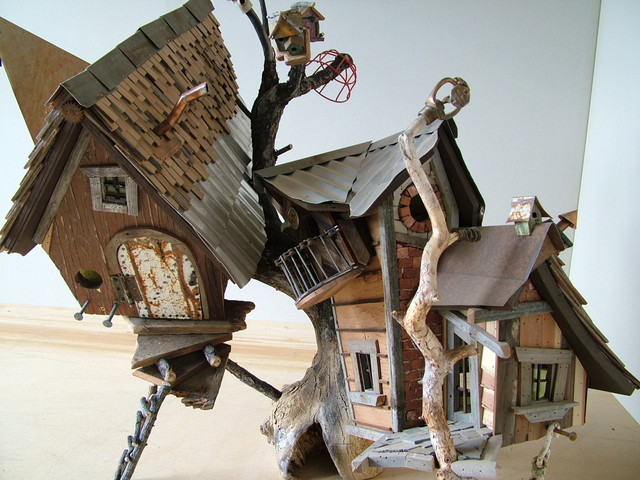 crooked creations eclectic-birdhouses