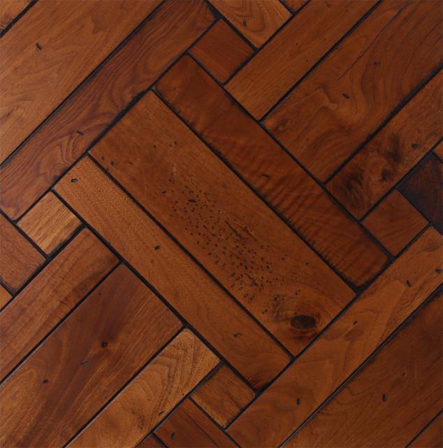 Custom Parquet Flooring traditional-hardwood-flooring