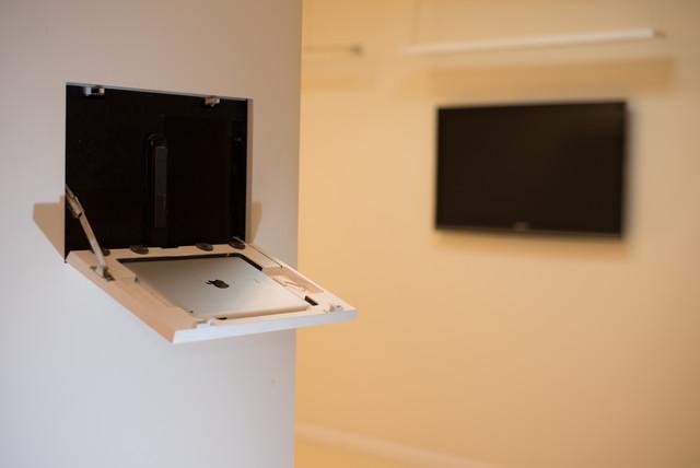 Wall-Smart wall mount for iPad - Modern - Home Electronics - tel aviv - by Wall-Smart Ltd.
