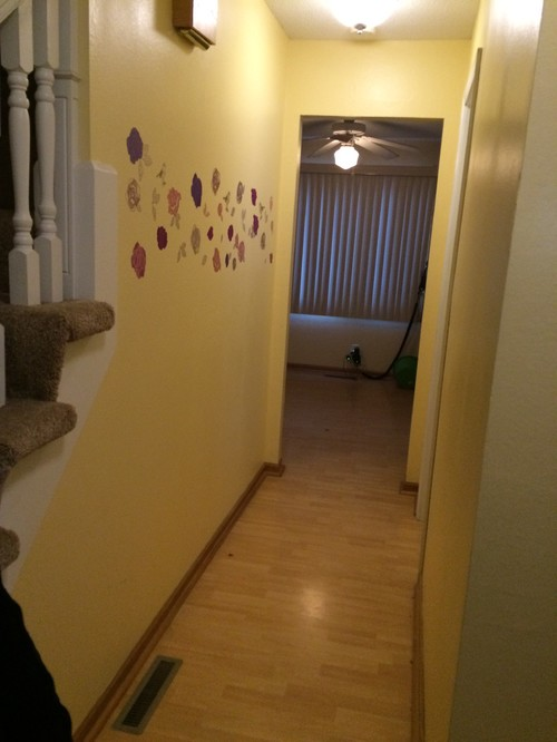 Narrow Foyer Near Me : Decor for ft long but narrow hallway