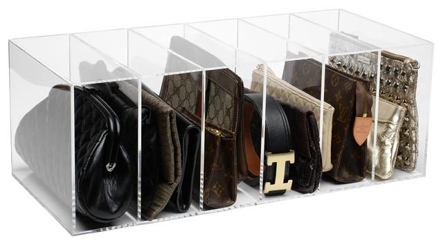 GlamDivide Clutch Organizer - Modern - Closet Organizers - by GLAMbox ...