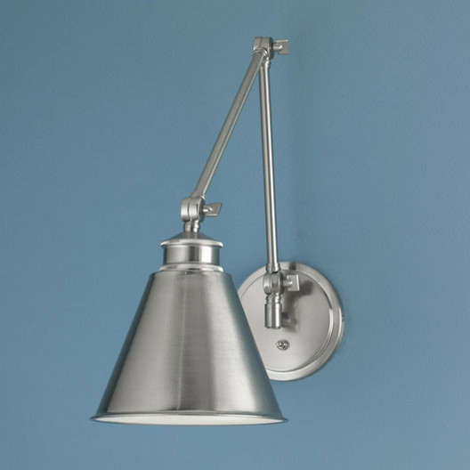 Aidan Swing Arm Sconce by Norwell Lighting contemporary-swing-arm-wall-lamps