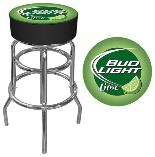 Bud Light Lime Bar Stool modern-bar-stools-and-counter-stools