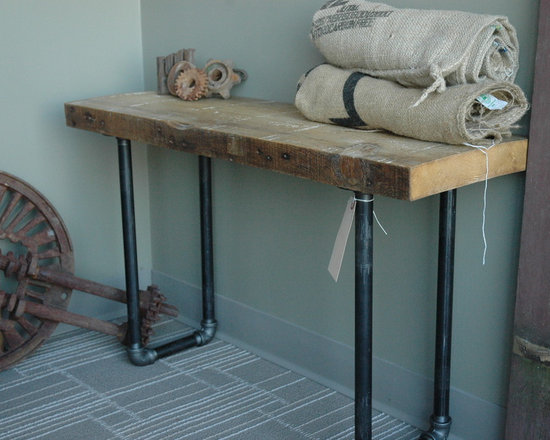 Salvaged Wood Bench - Brent Hollenberg
