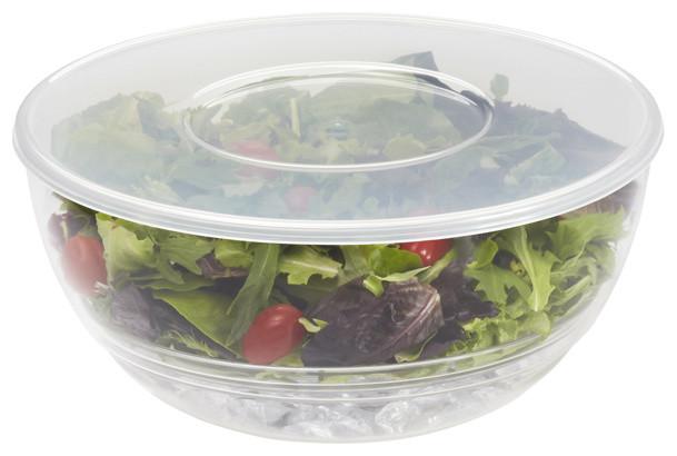 Ice & Go® Salad Bowl modern-serving-bowls