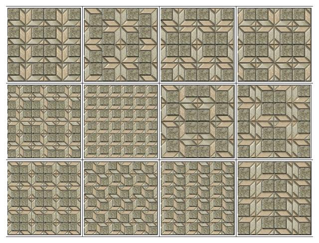 3D Tiles (1 in 12) tile