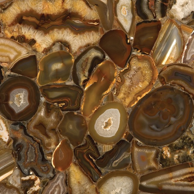 Concetto Brown Agate 8310 By Caesar Stone modern-kitchen-countertops
