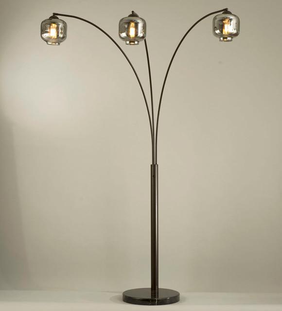 thomas 3 light arc lamp modern floor lamps by modern furniture. Black Bedroom Furniture Sets. Home Design Ideas