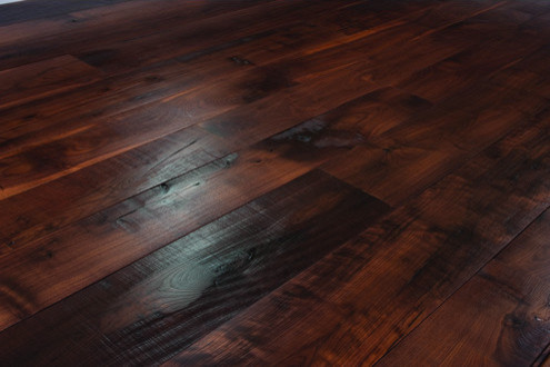Carlisle wide plank floors contemporary hardwood for Dark wood vinyl flooring