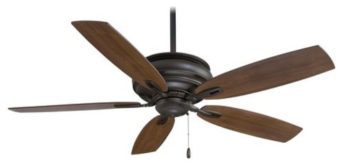 """MinkaAire F614-ORB Oil Rubbed Bronze  5 Blade 54"""" Ceiling Fan with contemporary-ceiling-fans"""