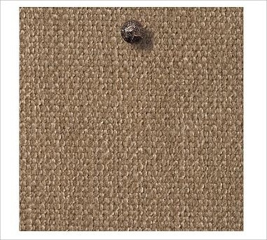 Fabric by the Yard Washed LinenCotton Walnut traditional