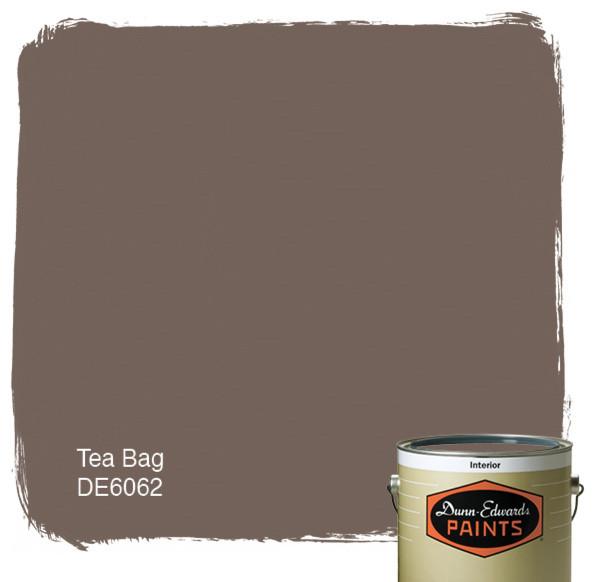 Dunn edwards paints tea bag de6062