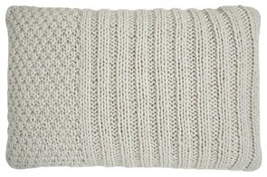 Maple Cream Knitted Cushion modern-decorative-pillows