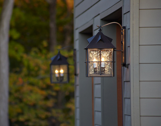 Exterior Garage Lighting - Transitional - Outdoor Wall Lights And Sconces - milwaukee - by Brass ...