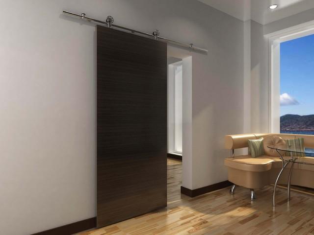 Modern Barn Door Hardware for Wood door - Modern - Barn Door Hardware ...