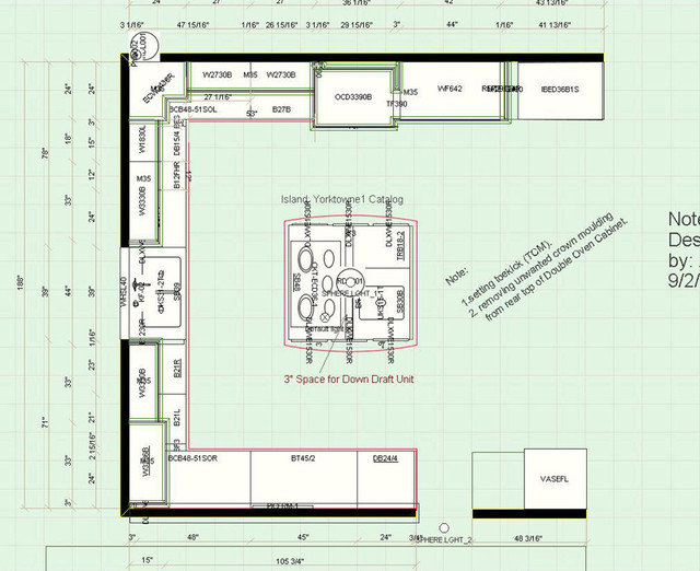Kitchen Floor Plans contemporary