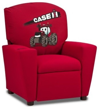 Kidz World Case International Harvester Kids Recliner modern-kids-chairs