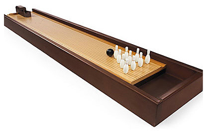 Tabletop Bowling Game - Contemporary - Game Tables - by FRONTGATE