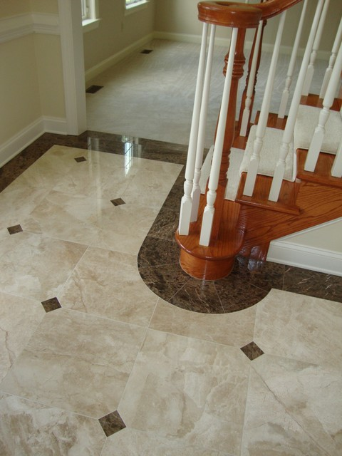 Traditional Foyer Tiles : Foyer traditional other metro by renaissance kitchen