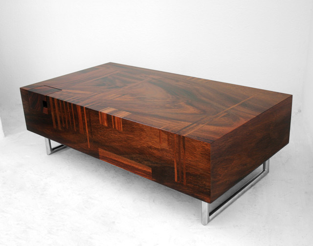 Ruthie low table by lot 61 contemporary coffee tables for Modern wooden coffee tables