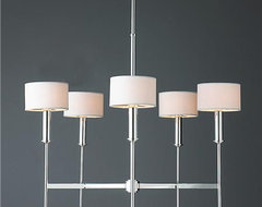 Pencil Arm Modern Chandelier modern-chandeliers