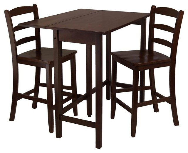 Lynnwood 3 Pc Drop Leaf High Pub Table Set Contemporary  : contemporary dining sets from www.houzz.com size 640 x 522 jpeg 55kB
