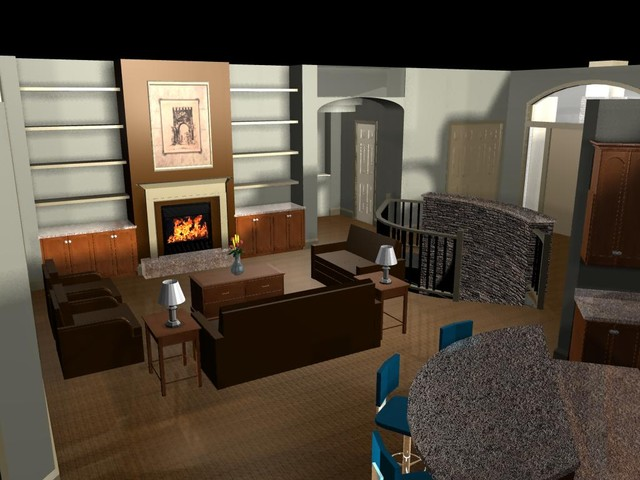 3D Renderings of our Designs & Stockplans