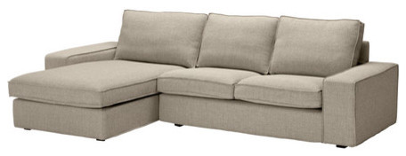 KIVIK Loveseat and chaise lounge modern sectional sofas
