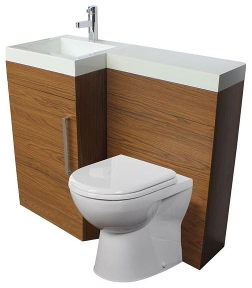 Venice Left Hand Complete Set modern-bathroom-vanities-and-sink-consoles
